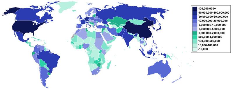 Lexas: Internetnutzer weltweit