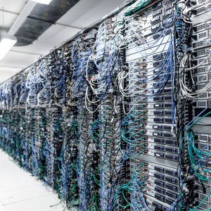Foto von Serverzentrum eines Internetproviders // Foto: 1&1