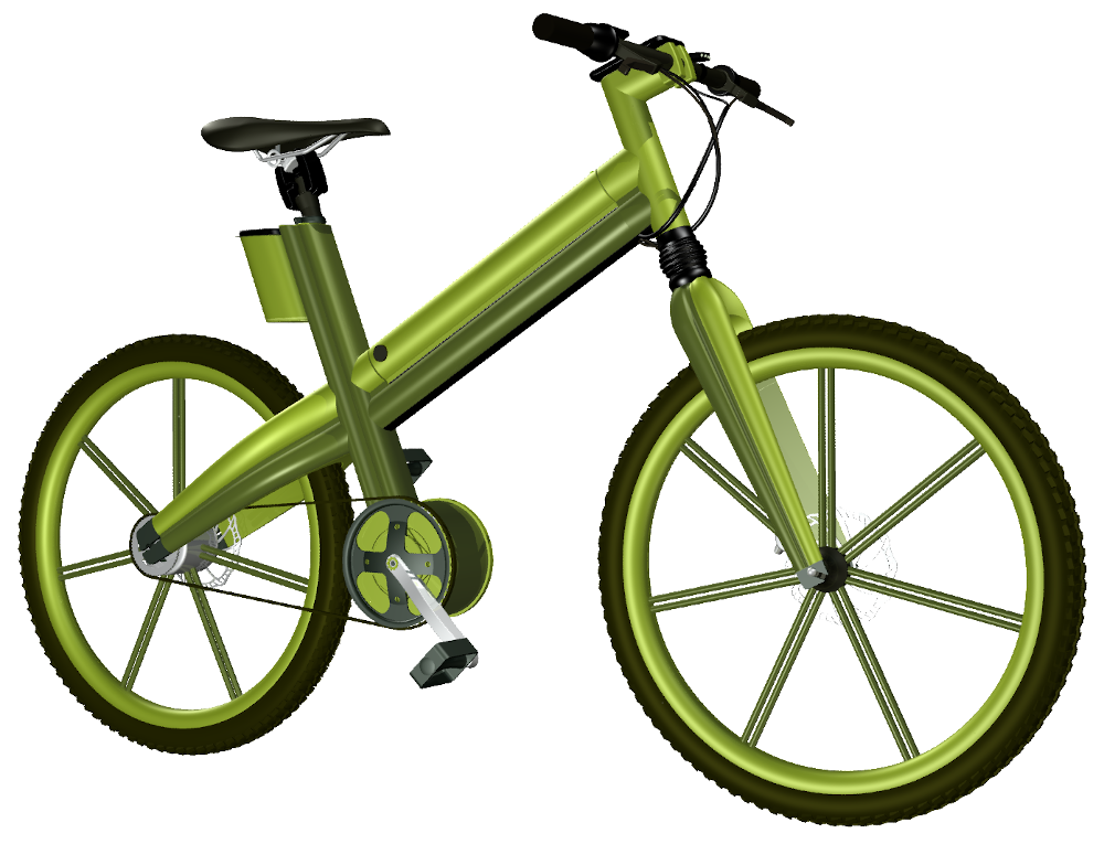 E-Bike: Konzeption eines grünen Unisexpedelecs, by Kerjo // form:f - industrial design