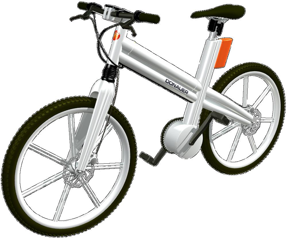 E-Bike: Konzeption eines weißen Unisexpedelecs, by Kerjo // form:f - industrial design