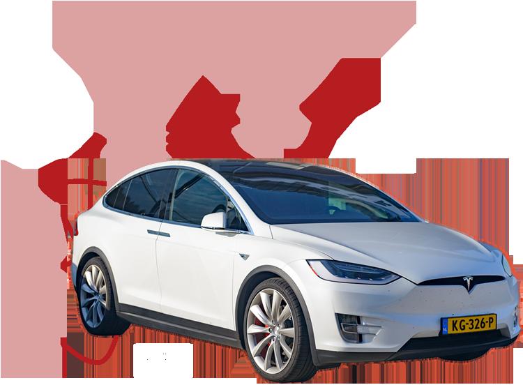 e-AVs, Stromhunger & Infrastruktur im Hintergrund, Bild von Tesla Model S