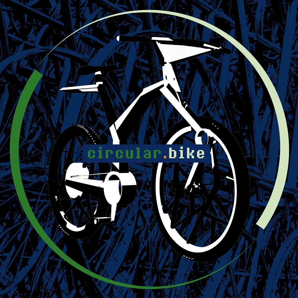 rC3: Grafik zu circular.bike // Zeichen auf dunklem Hintergrund